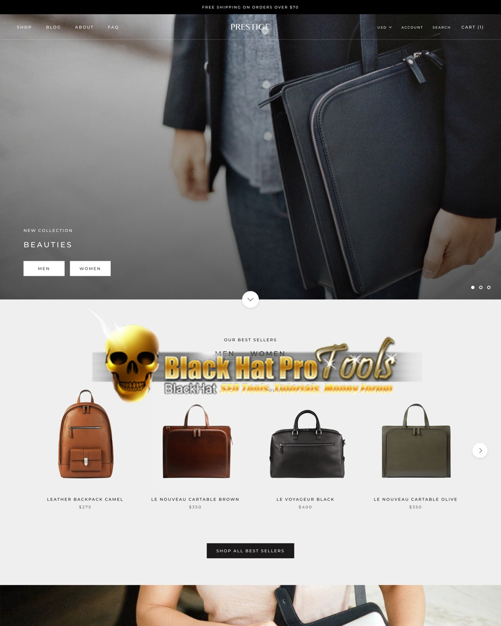 Madison : Shopify ecommerce themes free